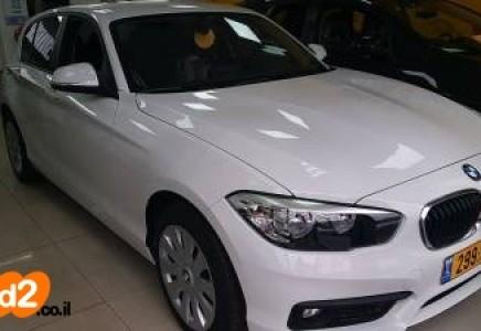 Bmw 118 S שנת012018 15t סנטרל פלוס מכירת רכב מיד ראשונה